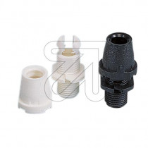 Cord Grip Cone Shape Black White