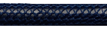 Textile Cable Dark Blue Netlike Textile Covering
