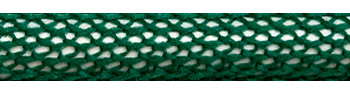 Textile Cable Green-White Netlike Textile Covering