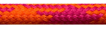 Textile Cable Orange-Cerise-Cerise