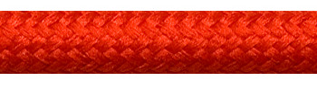 Textile Cable Rust Red