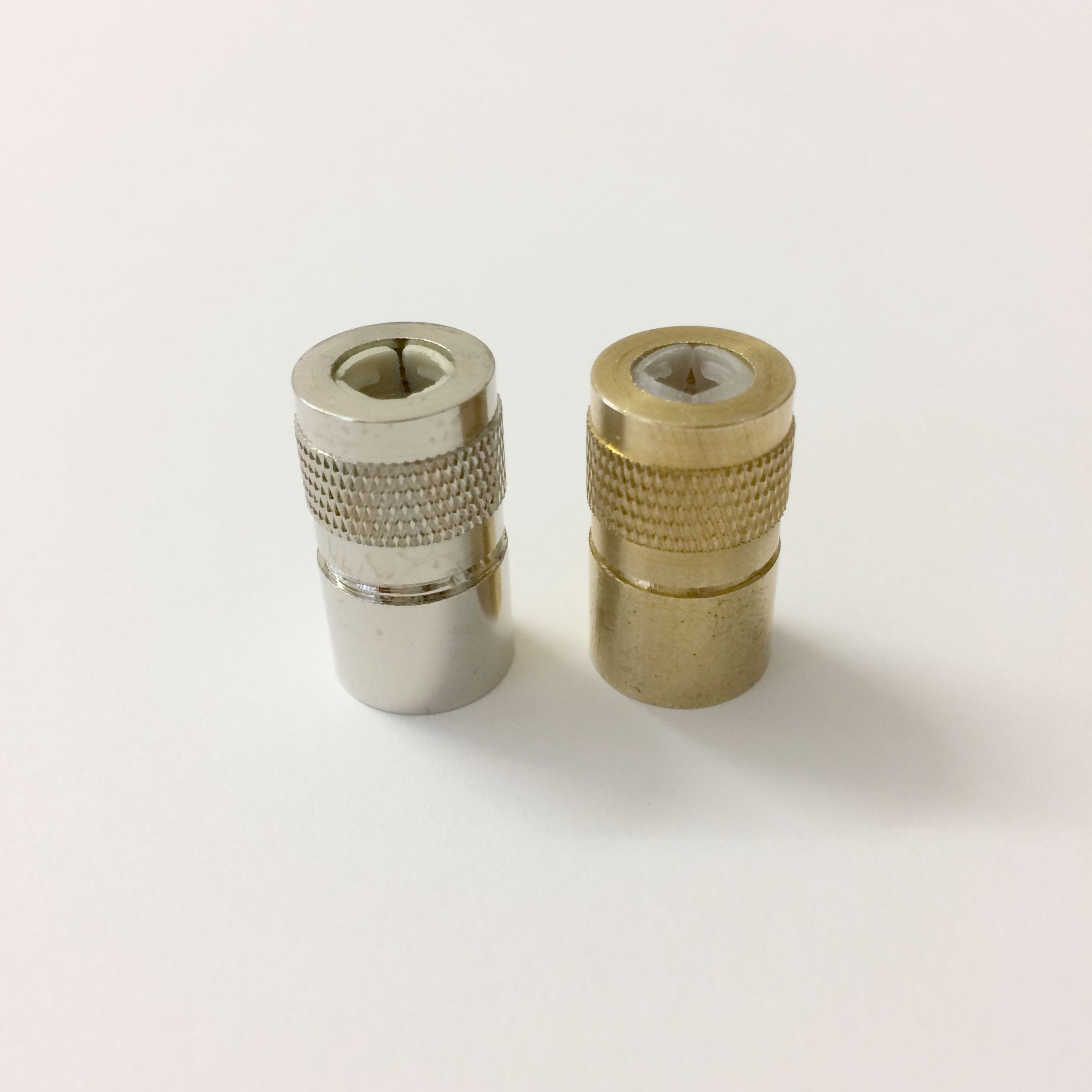 Chrome cord Connectors with cord