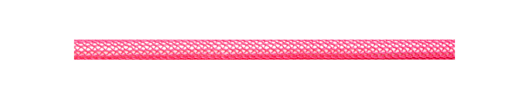 Textile Cable Neon Pink Netlike Covering