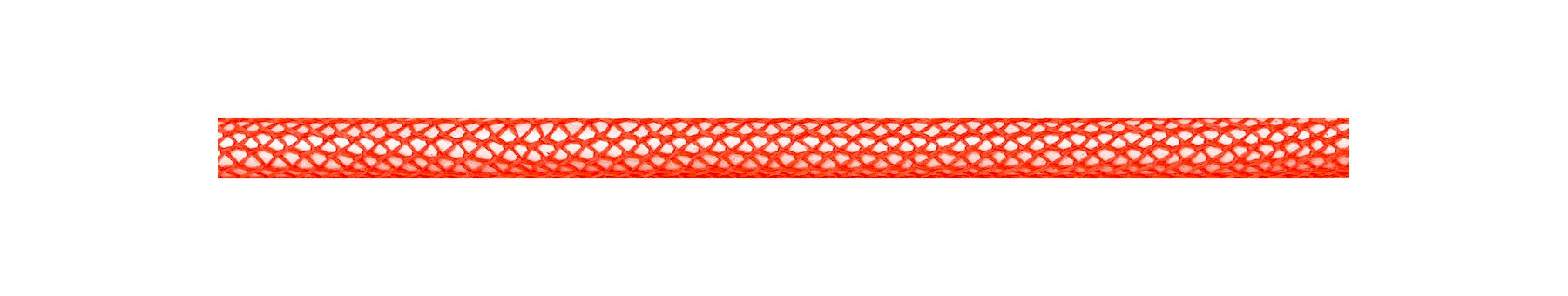 Textile Cable Neon Orange Netlike Covering