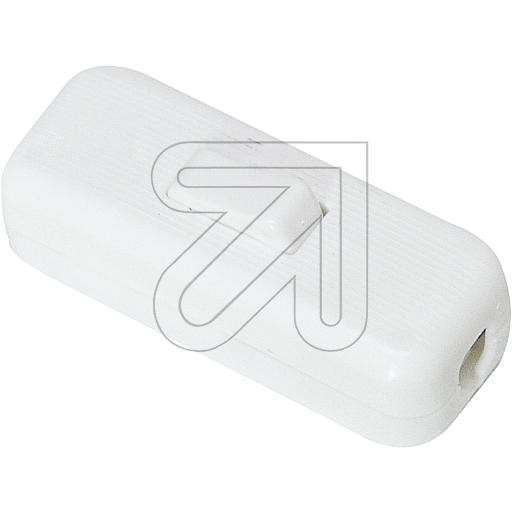 Inline Cord Switch White