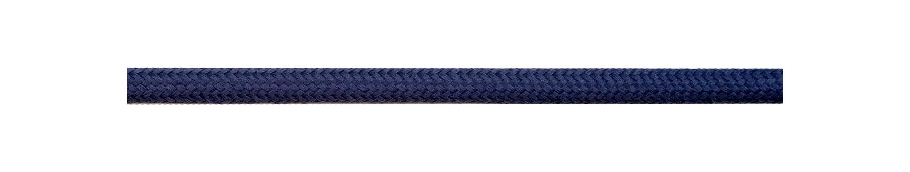 Textile Cable Steel Blue
