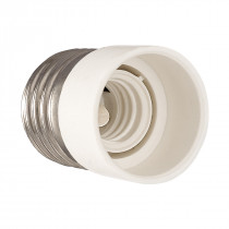 Adapter E27-E14 White