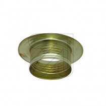 Metal Shade Ring E14 Gold