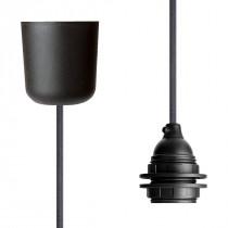 Pendant Lamp Plastic Dark Grey