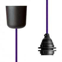 Pendant Lamp Plastic Purple