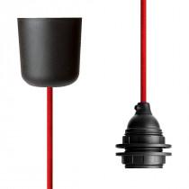 Pendant Lamp Plastic Red
