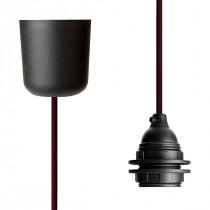 Pendant Lamp Plastic Wine Red