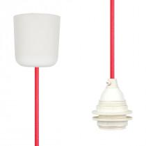 Pendant Lamp Plastic Neon-Pink-Orange