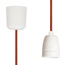 Pendant Lamp Porcelain Copper
