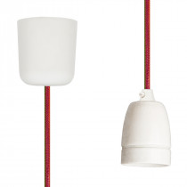 Pendant Lamp Porcelain Happy Stripe Netlike