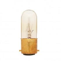 Tubular Bulb Clear B22 15W