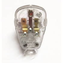 Schuko Plug Transparent