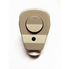 Schuko Plug with LED Control switch beige