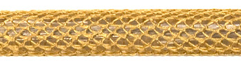 Textile Cable Gold Netlike Textile Covering