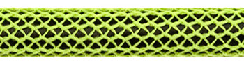 Textile Cable Neon Green/Black Netlike Covering