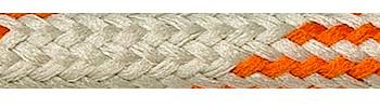 Textile Cable Orange-Beige