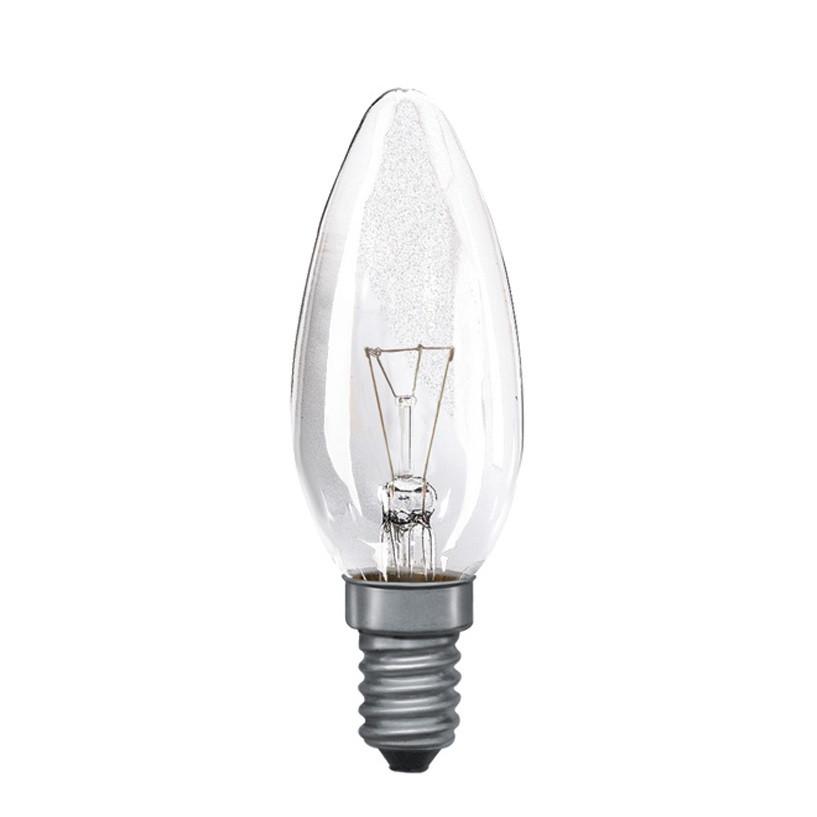 Candle Bulb Clear E14 15W