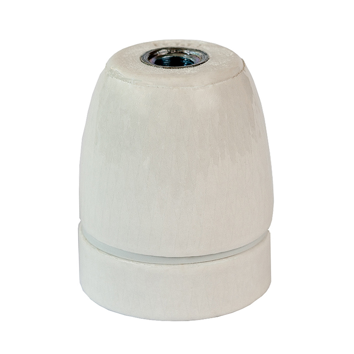 Porcelain Lamp Holder E27 Glazed