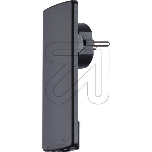 Schukoplug EVOline Plug Black