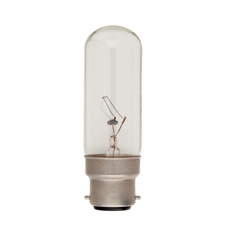 Tubular Bulb Clear B22 60W