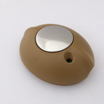 Dimmer switch with soft-touch control brown straw