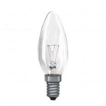 Candle Bulb Clear E14 15W 25W 40W