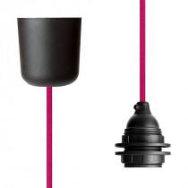 Pendant Lamp Plastic Cerise