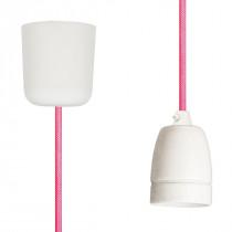 Pendant Lamp Porcelain Neon Pink