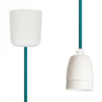 Pendant Lamp Porcelain Turquoise