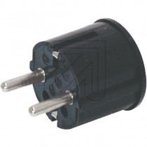 Schuko Plug Black