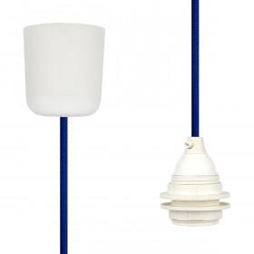 Pendant Lamp Plastic Blue