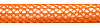 Textile Cable Orange Netlike Textile Covering
