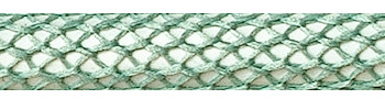 Textile Cable Pastel Green Netlike Textile Covering