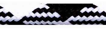 Textile Cable Black-White