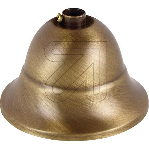 Canopy – Metal Cone Shape Brass Vintage