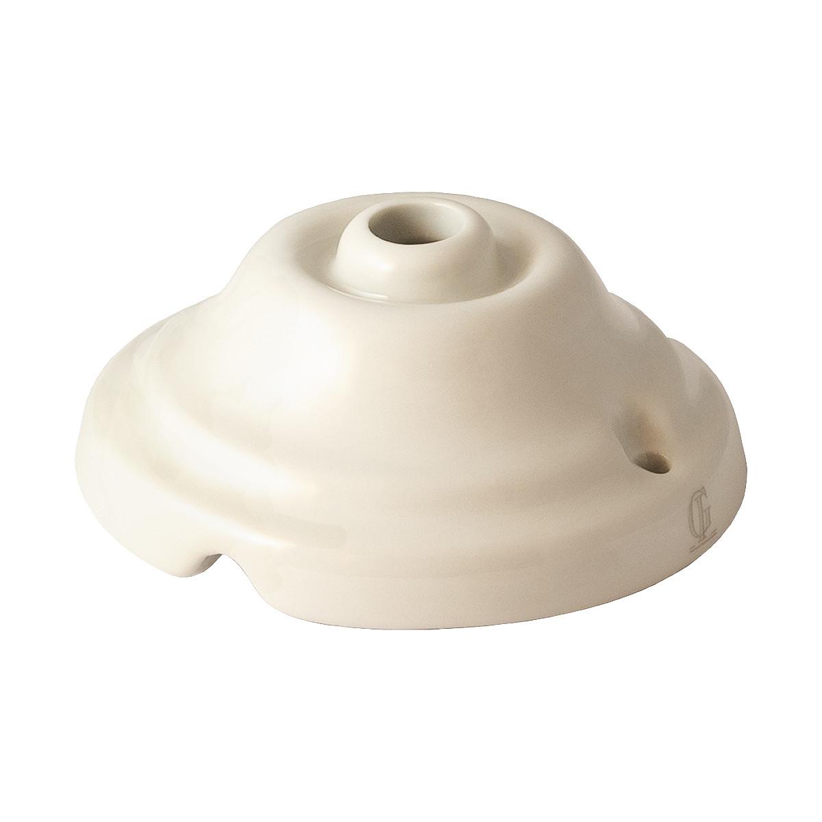 Canopy - Porcelain Glazed White
