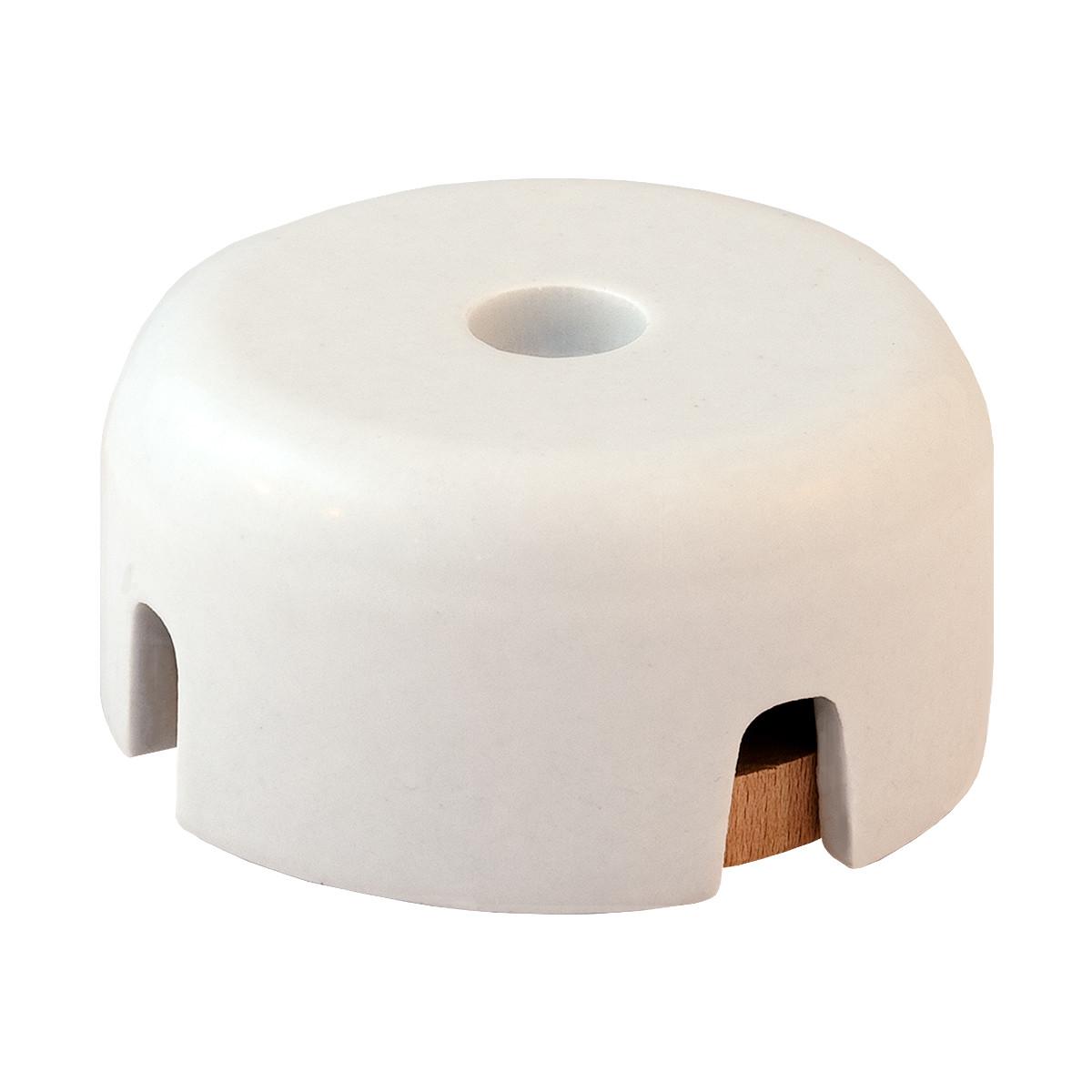 Distribution Box Porcelain Glazed White
