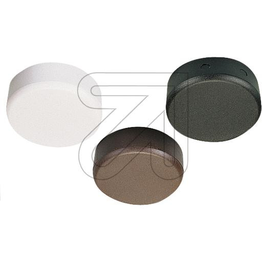 Distribution Box - Plastic Black White Brown