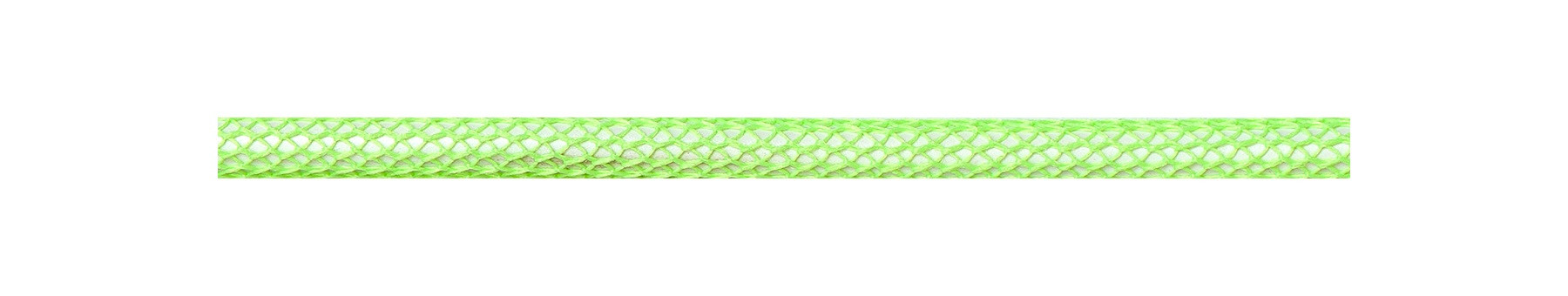 Textile Cable Neon Green Netlike Covering