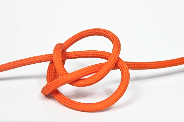 Pendant Lamp Plastic Orange