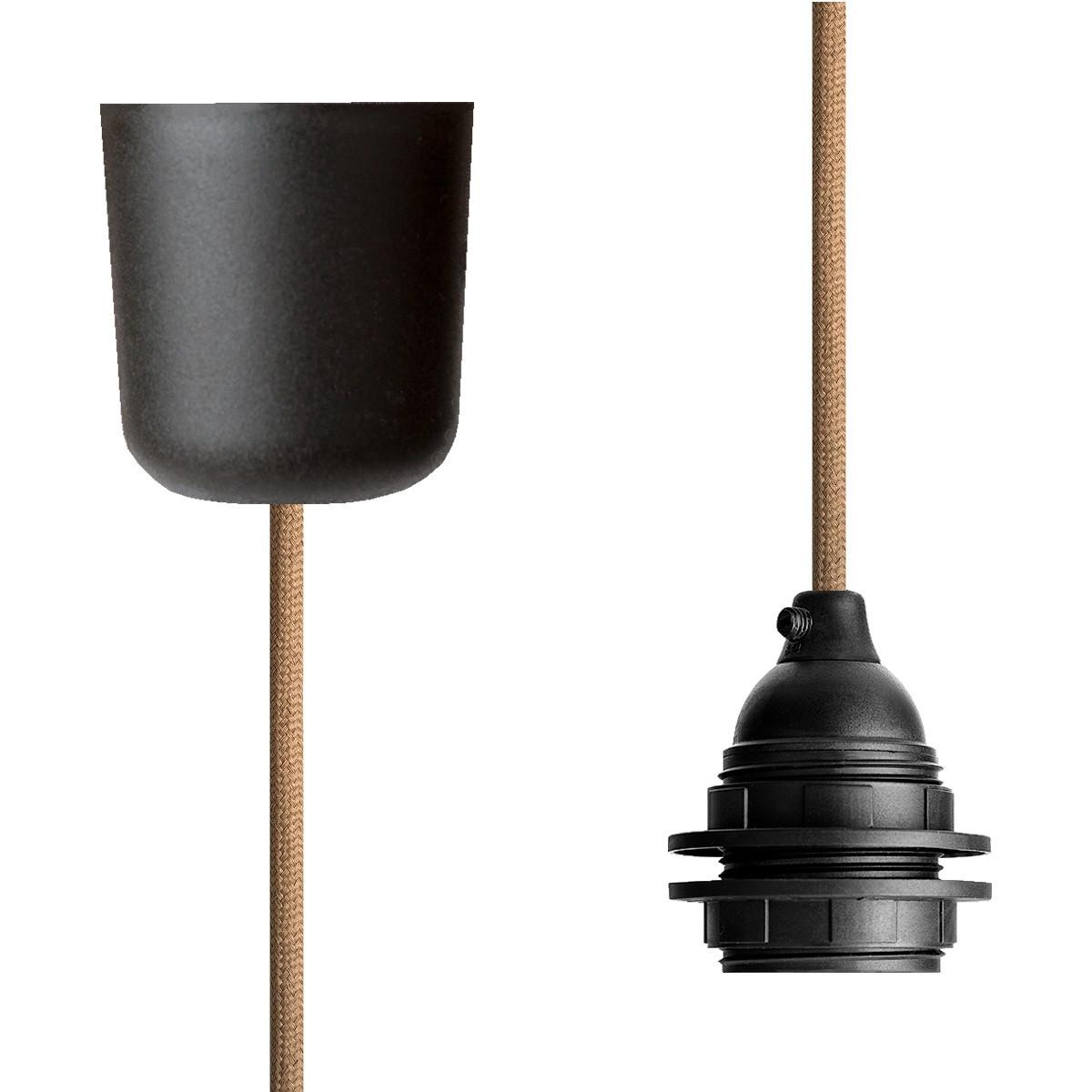 Pendant Lamp Plastic Beige