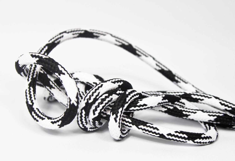 Pendant Lamp Plastic Black-White