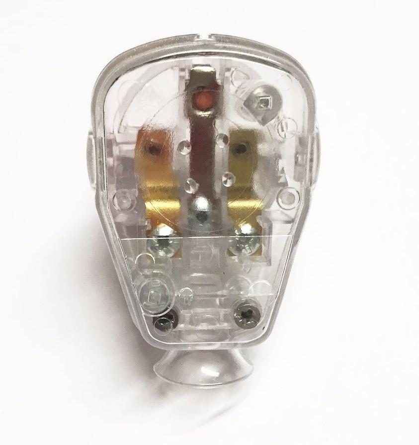Schuko Plug Transparent