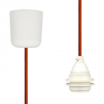 Pendant Lamp Plastic Copper