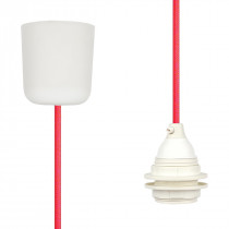 Pendant Lamp Plastic Neon-Pink-Orange